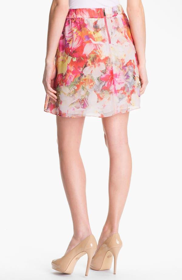 Alternate Image 2  - Vince Camuto 'Corsage Floral' A-Line Skirt