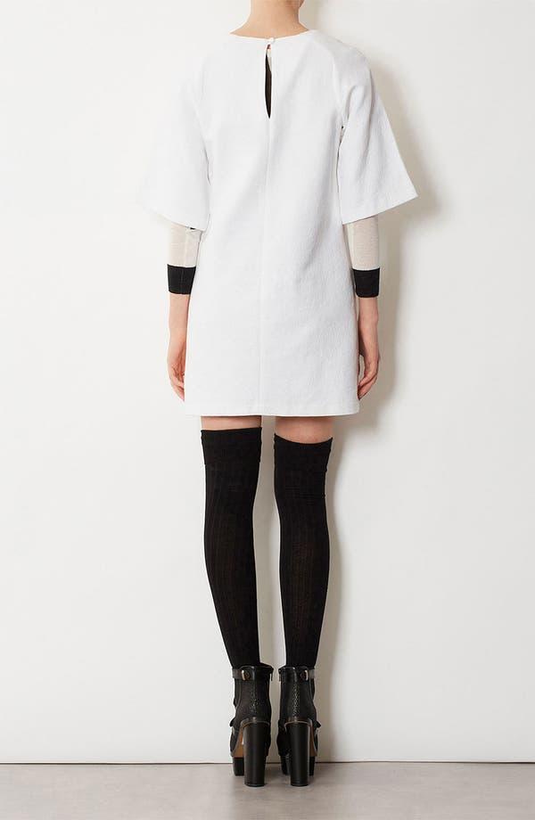 Alternate Image 2  - Topshop Clean Texture Shift Dress