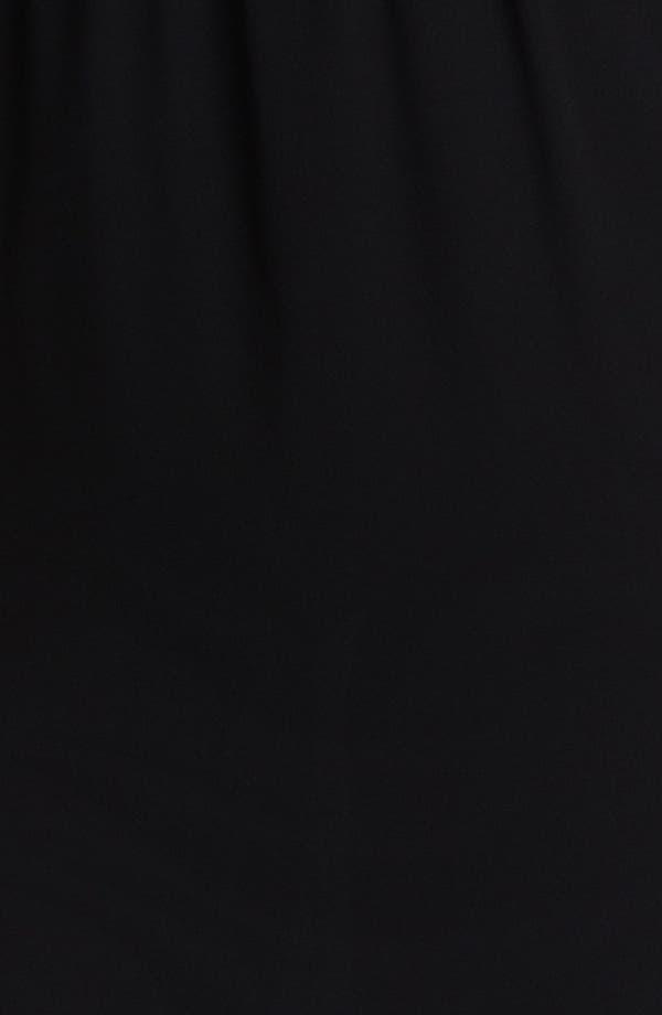 Alternate Image 3  - BLAQUE LABEL Mixed Media Maxi Dress