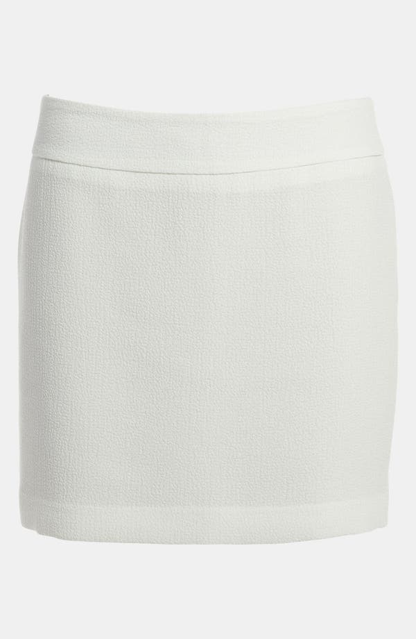 Alternate Image 1 Selected - Tildon Textured Miniskirt