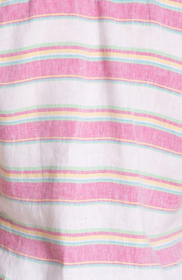 Alternate Image 3  - French Connection Short Sleeve Linen Sport Shirt