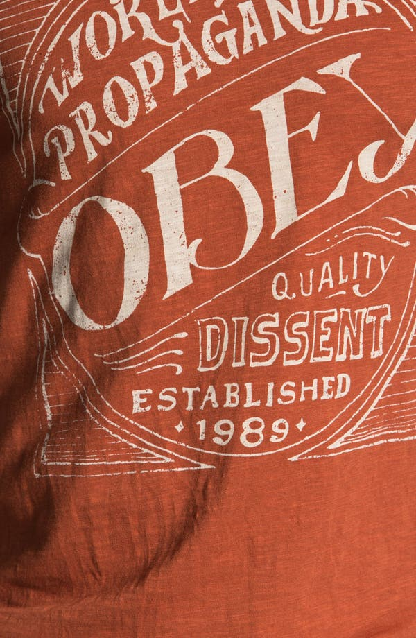 Alternate Image 3  - Obey 'Old Brew' Graphic T-Shirt