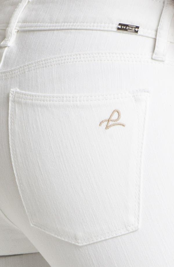 Alternate Image 3  - DL1961 'Angel' Ankle Cigarette Jeans (Milk)