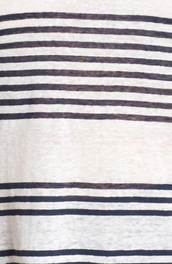 Alternate Image 3  - Lucky Brand 'Arianna' Stripe Tee (Plus Size)