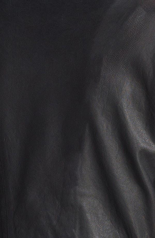 Alternate Image 6  - HELMUT Helmut Lang Washed Leather Jacket