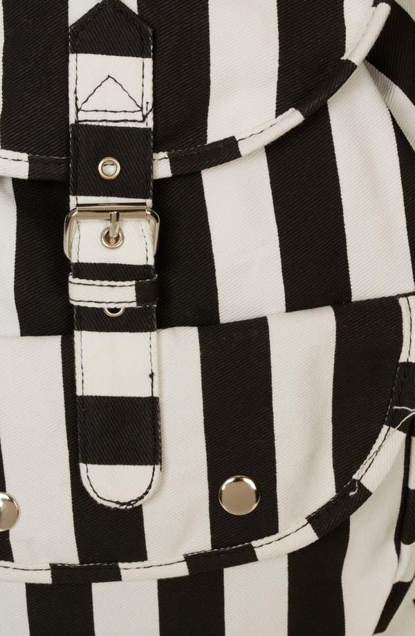 Alternate Image 4  - Topshop Stripe Backpack