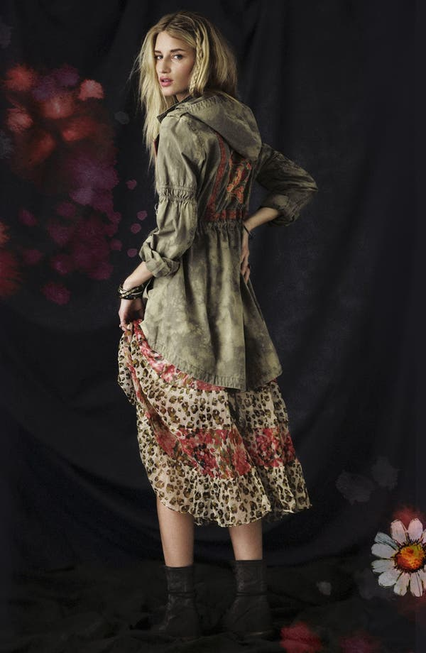 Alternate Image 5  - Free People 'Flower Dream' Twin Print Tiered Dress