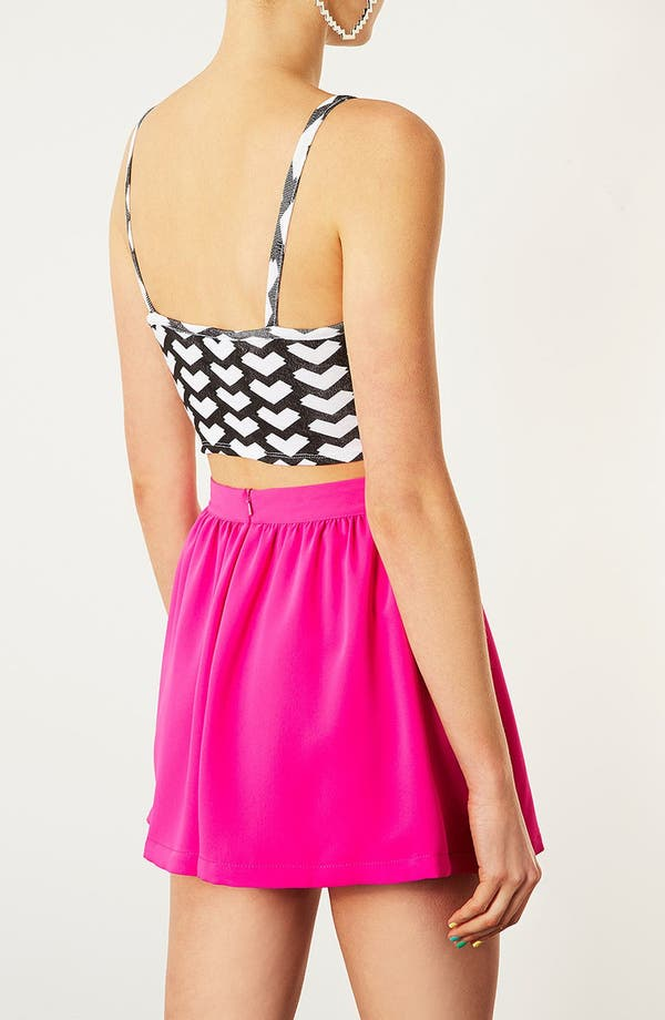 Alternate Image 2  - Topshop Geo Arrow Crop Tank