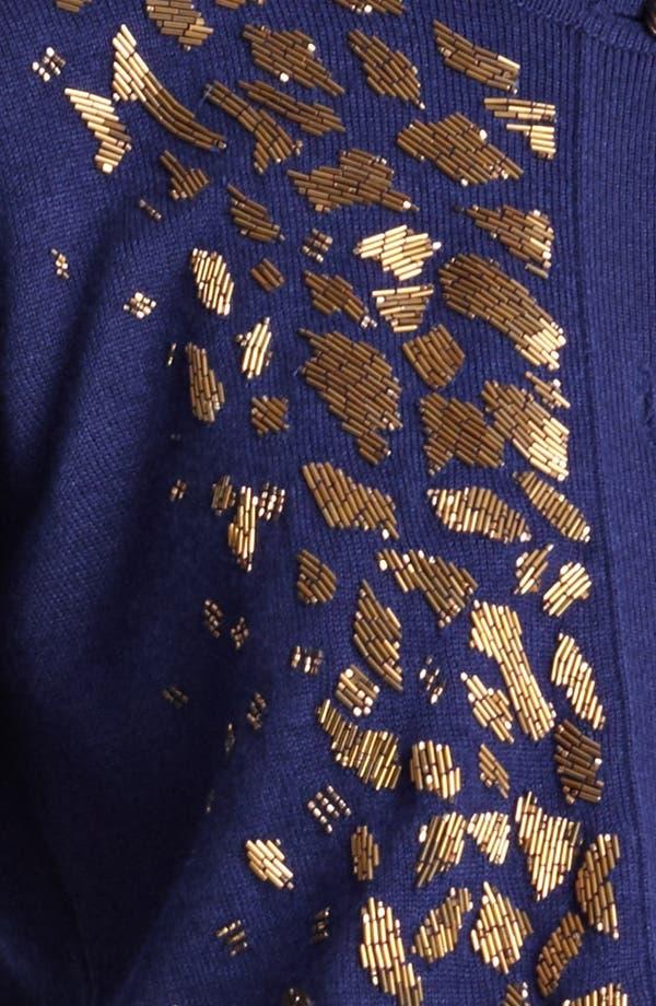 Alternate Image 4  - Oscar de la Renta Embroidered Cashmere & Silk Cardigan