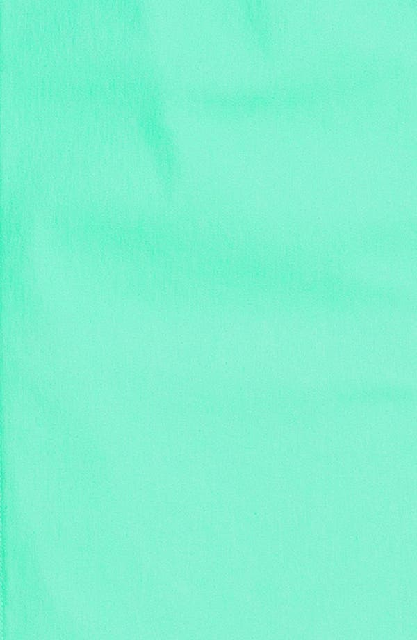 Seamed Sheath Dress,                             Alternate thumbnail 3, color,                             Aqua