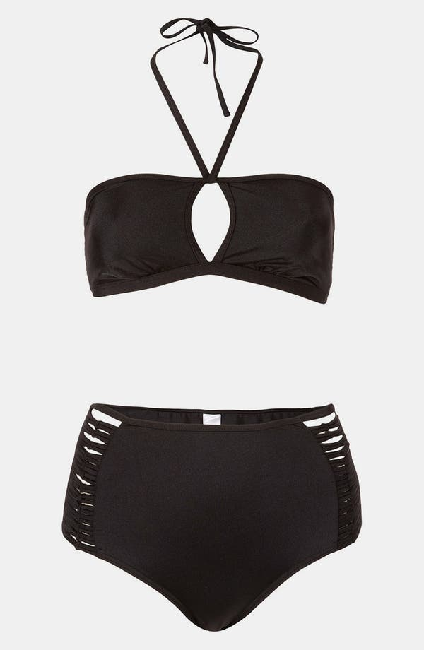 Main Image - Topshop 'Sophis' Two Piece Bandeau Swimsuit