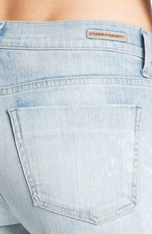 Alternate Image 3  - Citizens of Humanity 'Emanuelle' Slim Bootcut Jeans (Sorbet)