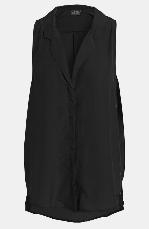 Main Image - ASTR Side Zip Sleeveless Top