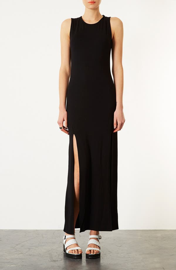 Alternate Image 1 Selected - Topshop Double Split Maxi Dress