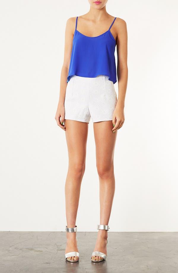 Alternate Image 4  - Topshop 'Lola' Lace Shorts