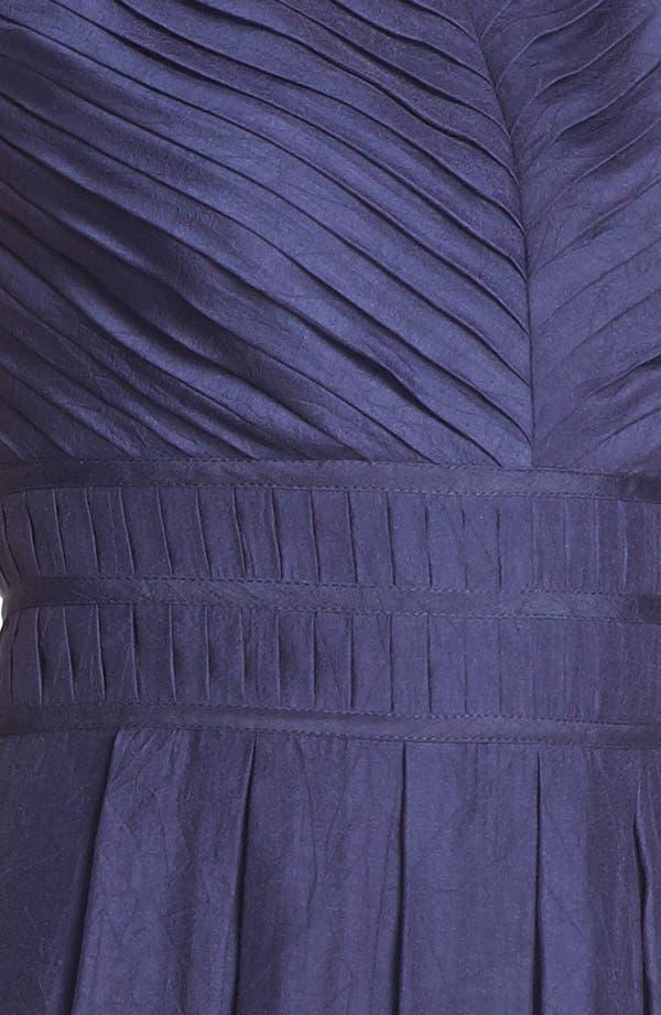 Alternate Image 3  - Ivy & Blu Pleat Fit & Flare Dress (Online Only)