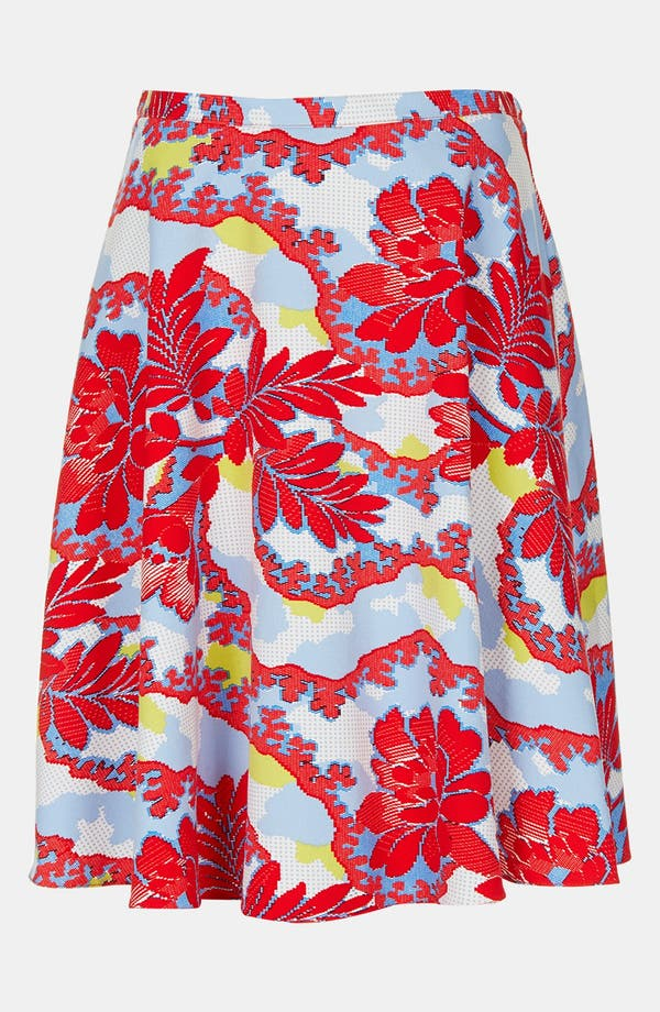 Alternate Image 3  - Topshop 'Portobello Calf' Skater Skirt