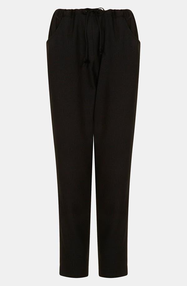 Alternate Image 1 Selected - Topshop Boutique 'Takashi' Drawstring Trousers