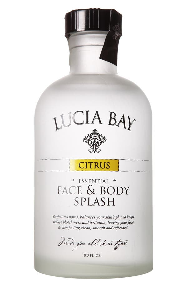 Main Image - Lucia Bay 'Citrus' Essential Face & Body Splash