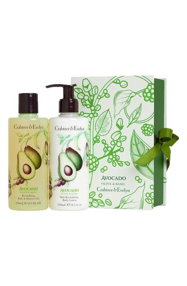 Main Image - Crabtree & Evelyn 'Avocado, Olive & Basil' Perfect Pair