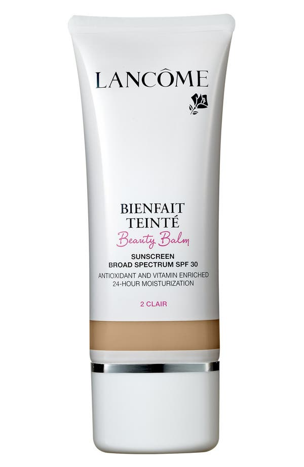 Alternate Image 1 Selected - Lancôme Bienfait Teinté Beauty Balm 24H Moisturization Broad Spectrum SPF 30