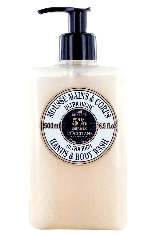 Main Image - L'Occitane Ultra Rich Hand & Body Wash (16.9 oz.) (Limited Edition) ($33 Value)