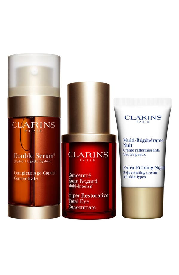 Main Image - Clarins 'Line Smoothers!' Anti-Aging Trio (Nordstrom Exclusive) ($192 Value)