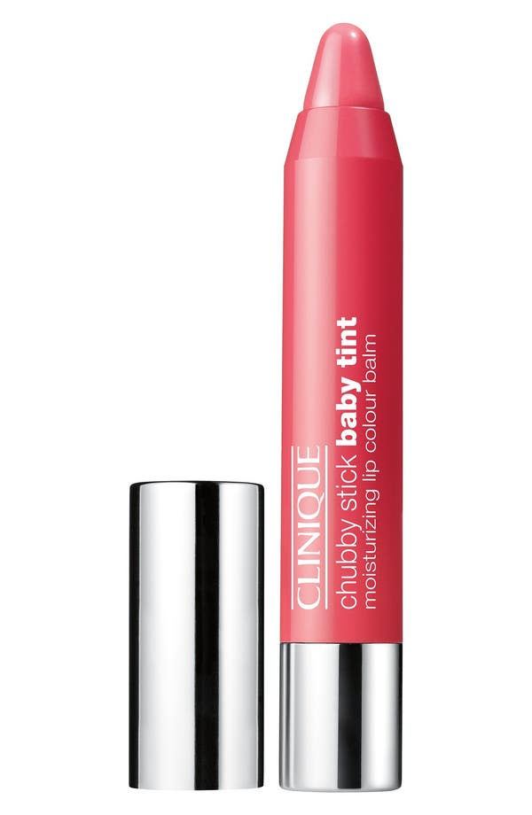 Chubby Stick Baby Tint Moisturizing Lip Color,                         Main,                         color, Coming Up Rosy