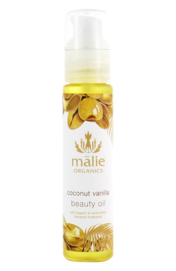 Main Image - Malie Organics Coconut Vanilla Beauty Oil