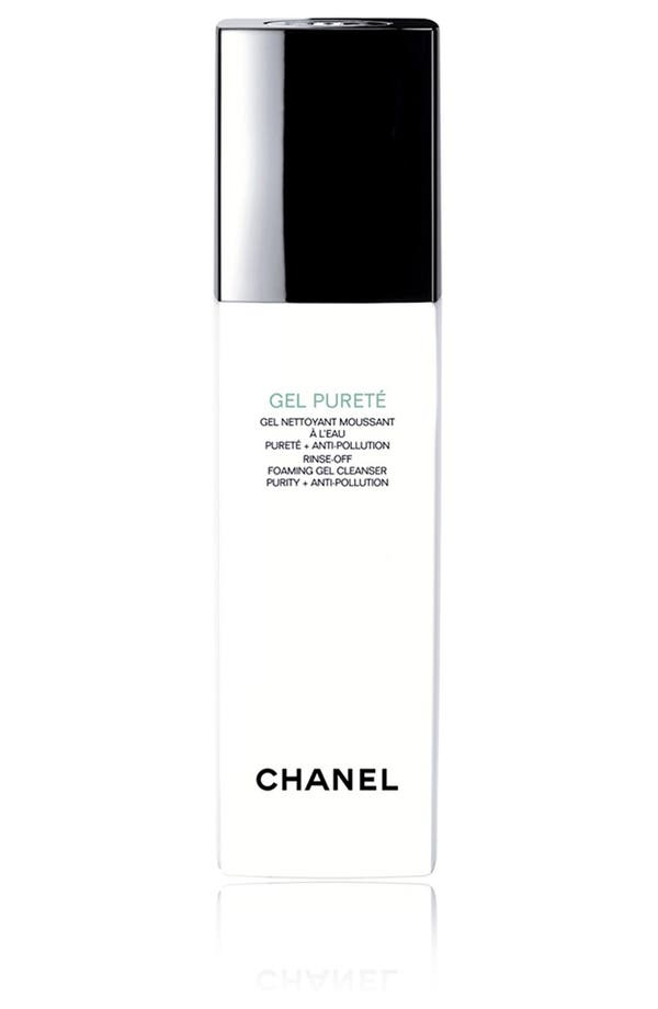 Alternate Image 1 Selected - CHANEL GEL PURETÉ  Rinse-Off Foaming Gel Cleanser Purity + Anti-Pollution