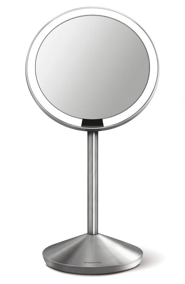 Mini Countertop Sensor Makeup Mirror,                         Main,                         color, No Color