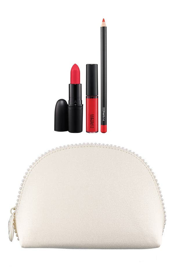 Alternate Image 1 Selected - M·A·C 'Keepsakes - Red' Lip Bag (Limited Edition) ($47 Value)