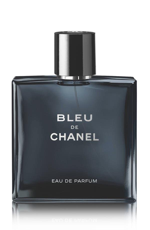 BLEU DE CHANEL Eau de Parfum Pour Homme Spray,                             Main thumbnail 1, color,                             No Color