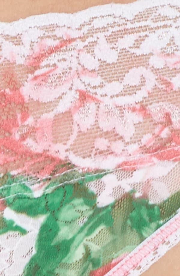 Print V-Kini Bikini,                             Alternate thumbnail 4, color,                             Pink Floral