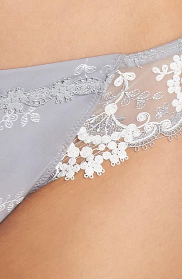 Alternate Image 8  - Simone Perele 'Wish' Embroidered Tanga Thong