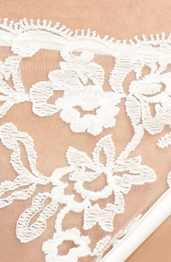 Rosie String Bikini,                             Alternate thumbnail 8, color,                             Moon Ivory