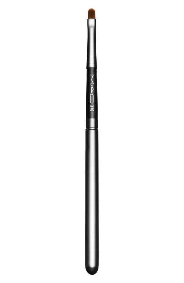 MAC 316 Lip Brush,                         Main,                         color, No Color