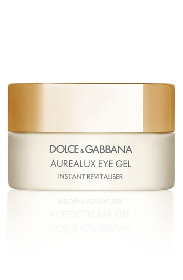 Main Image - Dolce&Gabbana Beauty 'Aurealux' Eye Gel Instant Revitaliser