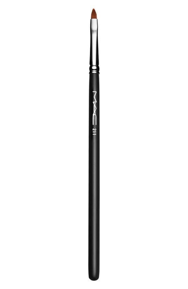 Main Image - MAC 211 Pointed Liner Brush