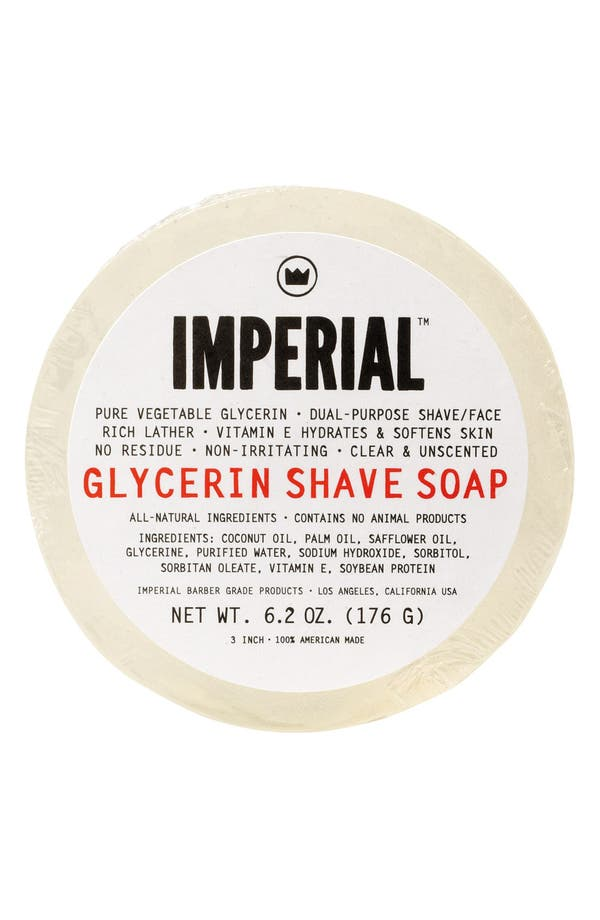 Alternate Image 1 Selected - Imperial Barber Grade Products™ Glycerin Shave & Face Soap Puck