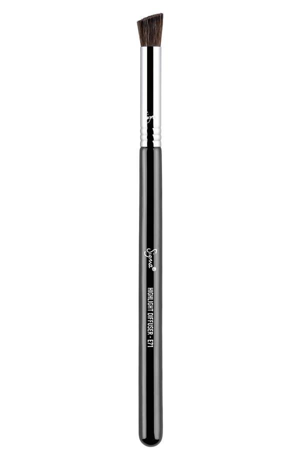 Alternate Image 1 Selected - Sigma Beauty E71 Highlight Diffuser™ Brush