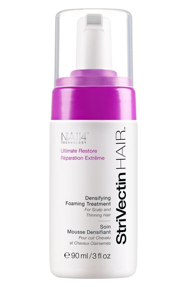 StriVectinHAIR<sup>™</sup> 'Ultimate Restore' Densifying Foaming Treatment for Scalp & Hair,                         Main,                         color, No Color