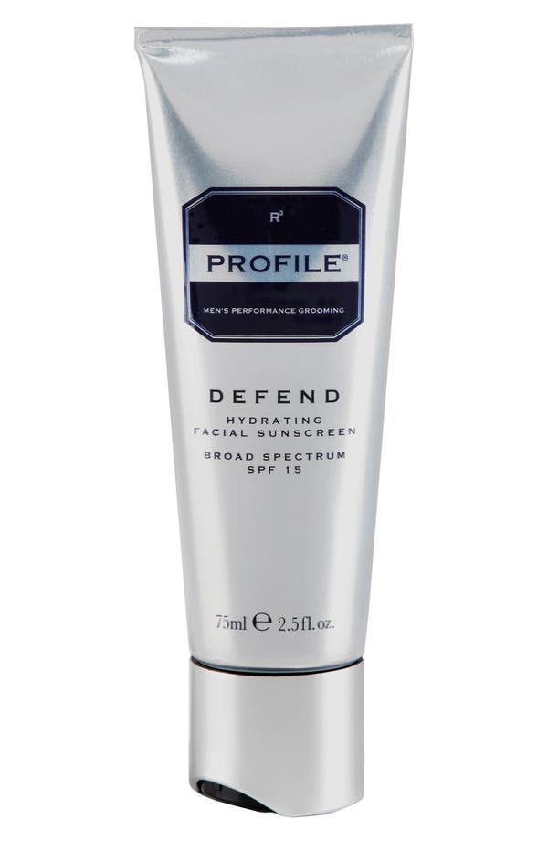 Main Image - PROFILE® 'Defend' Hydrating Facial Sunscreen Broad Spectrum SPF 15
