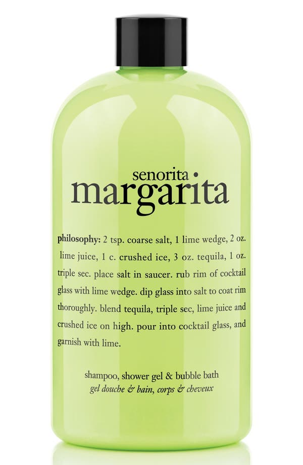 'señorita margarita' shampoo, conditioner & body wash,                         Main,                         color, No Color