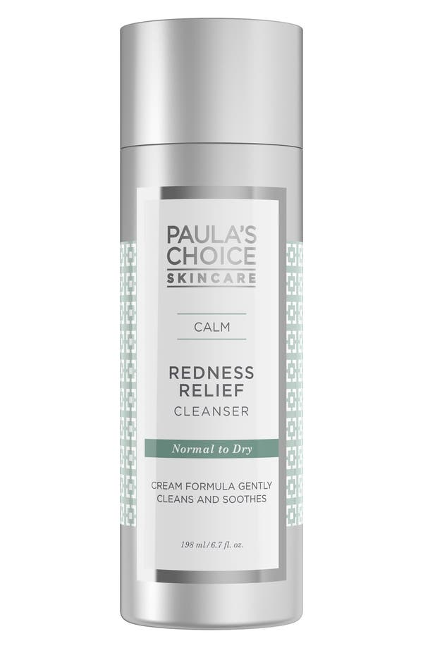 Calm Redness Relief Cleanser,                             Main thumbnail 1, color,                             No Color