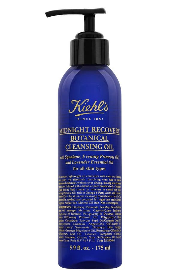 Main Image - Kiehl's Since 1851 'Midnight Recovery' Botanical Cleansing Oil