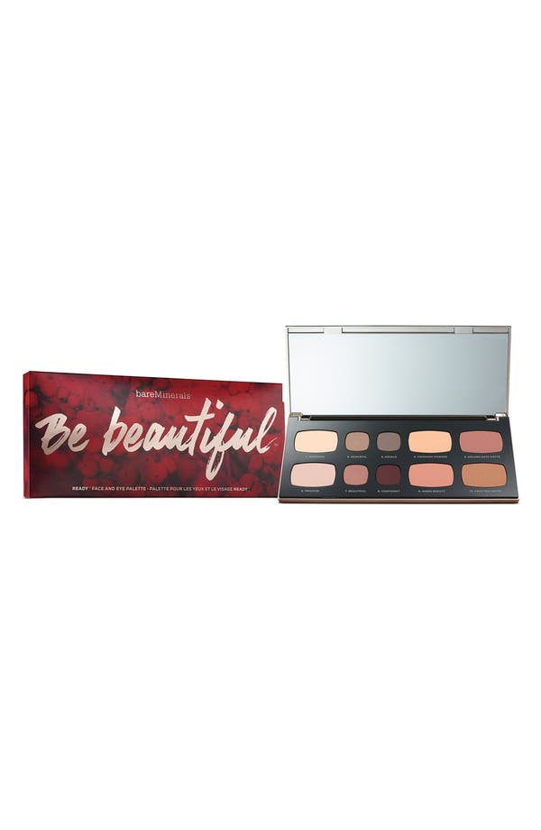 Alternate Image 1 Selected - bareMinerals® 'Be Beautiful™ - READY™' Face & Eye Palette (Limited Edition) ($126 Value)