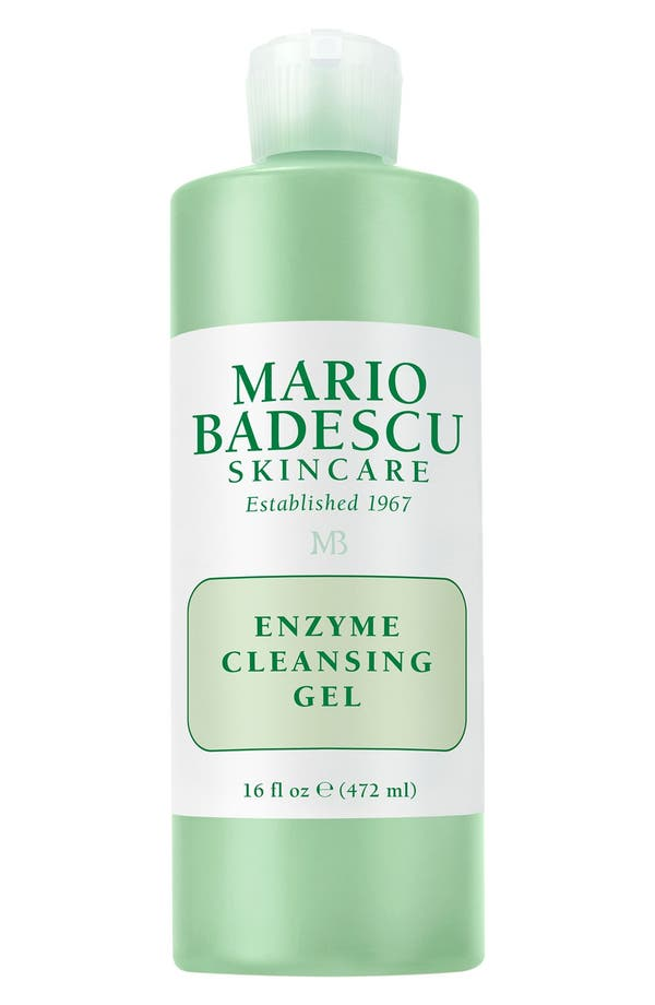 Alternate Image 1 Selected - Mario Badescu Enzyme Cleansing Gel (16 oz.)