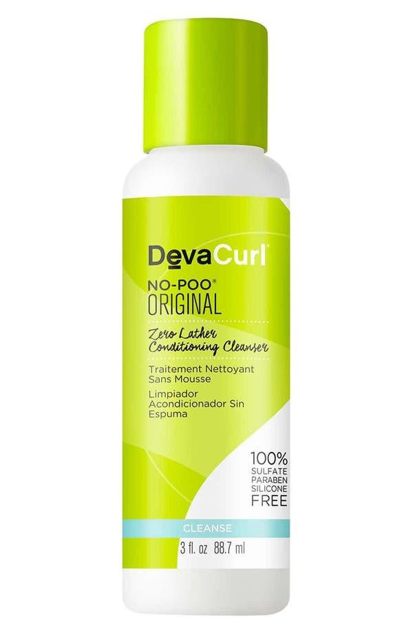 Main Image - DevaCurl No-Poo™ Original Zero Lather Conditioning Cleanser (Travel Size)