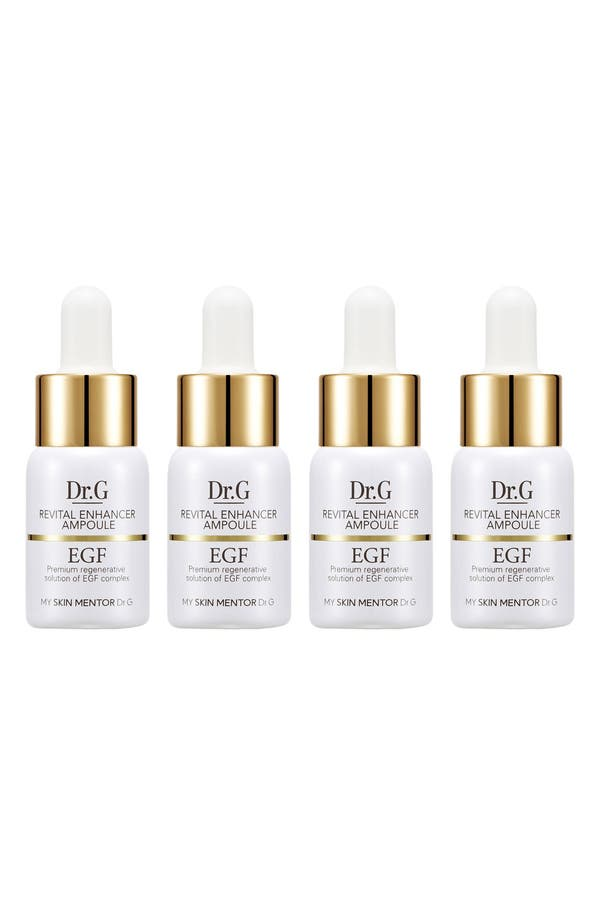 Alternate Image 1 Selected - My Skin Mentor Dr. G Beauty Revital Enhancer EGF Ampoule Four-Week Program